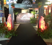 JURASSIC WORLD FALLEN KINGTON MOVIE PREMIERE – EVENT MARION CINEMA