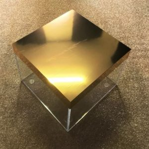 Black Framed Coffee Table