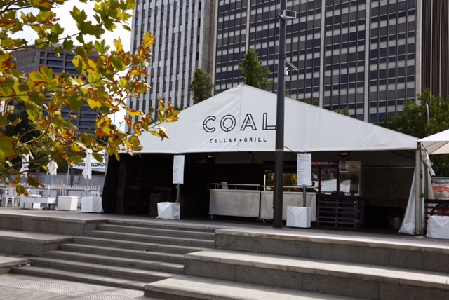 Hilton Adelaide's COAL Marquee @ Tour Down Under