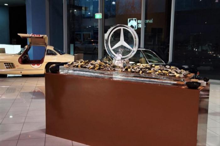 Mercedes Benz Launch
